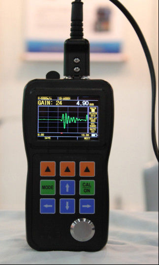 (A-SCAN) Ultrasonic Color Waveform Corrosion Thickness Gauge