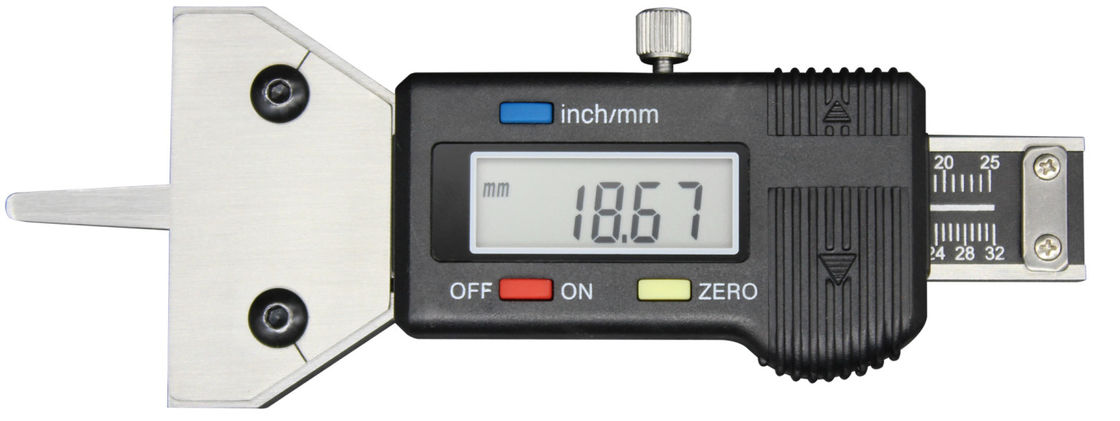 Digital Display Tire Thread Depth Gauge Digital Caliper Electronic Measuring Tool