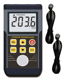 Large LCD screen Auto calibration Ultrasonic Coating Thickness Gauge