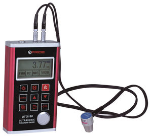 Single point and scan Work mode Ultrasonic Coating Thickness Gauge